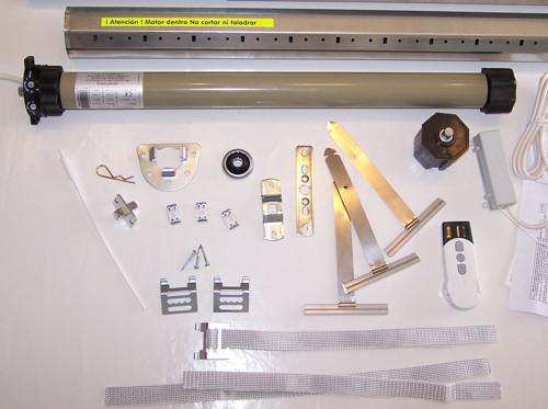 Motores y piezas para la motorización de persianas