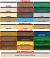 Tabla comparadora alicantinas pintadas/barnizadas